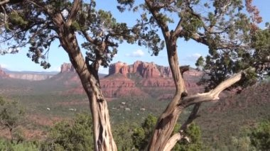 Scenic Sedona Arizona Landscape — Stock Video