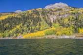 Paisaje de otoño de la montaña — Foto de Stock
