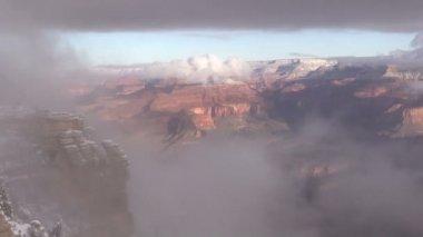 Grand canyon no inverno — Vídeo stock