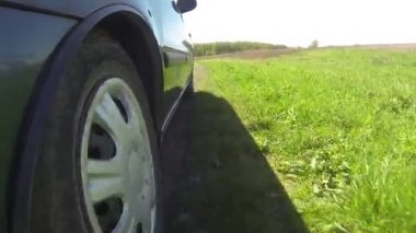 Driving in rural areas — Stockvideo