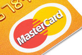 Mastercard credit card. — Stock Photo