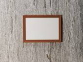 Picture (frame) on the wall — Stock Photo