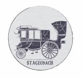 Stagecoach — Stock Vector