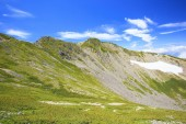 Summer Japanese Mountain — Stock Photo