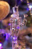 Christmas crystal soldier  — Fotografia Stock