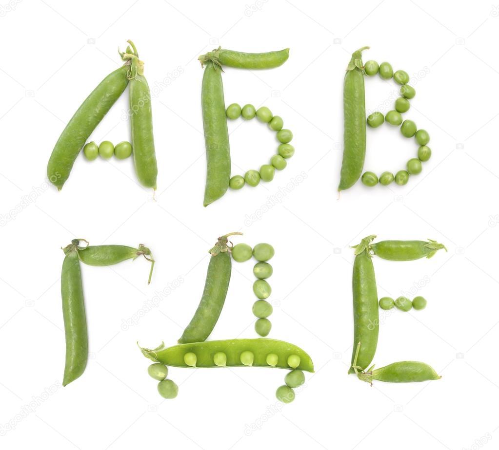 ryska alfabetet