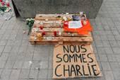 Mass unity rally held in Strasbourg following recent terrorist a — Foto de Stock