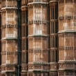 Westminster Abbey columns wall, London, United Kingdom — Stock Photo #65156141