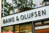 Exterior of a Bang & Olufsen store — Stock Photo