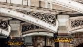 Westminster Bridge architectural detail — Stock Photo