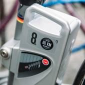 Electric bike motor close-up — Stock Photo