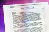 Detalles del nuevo acuerdo de Software Apple — Foto de Stock