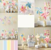 Wind Spinners decorations — Stock Photo