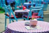 Cafe outdoors — Stock Photo