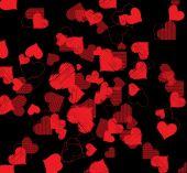Happy Valentines Day invitation template. card design illustrati — Διανυσματικό Αρχείο