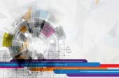 Abstract technology background Business & development direction — Stock vektor