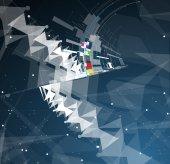 Streszczenie technologia tło kierunku Business idealna rozwoju — Wektor stockowy
