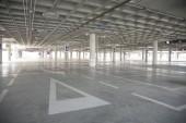 孤独な駐車場 — ストック写真