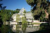 Crystal palace at Madrid — ストック写真