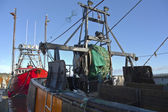 Fishing boat in Newport Oregon. — Stock Photo
