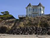 Real estate in Lincoln City Oregon. — Stock Photo