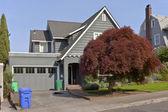 Residential houses around Portland Oregon. — Stock Photo