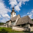 Church in the Julian Alps, Slovenia — Stock Photo #57083941