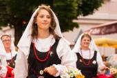 Kirchtag procession — Stock Photo
