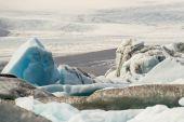 Icebergs of Joekulsarlon Bay — Stock Photo