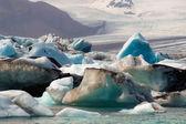 Joekulsarlon 湾的冰山 — 图库照片