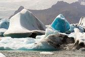 Icebergs of Joekulsarlon Bay — ストック写真