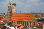 Cathedral of Our Dear Lady in Munich — Stock Photo
