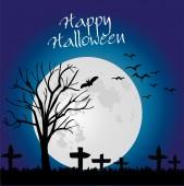 Halloween backgound — Stock Vector