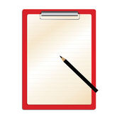 Clipboard — Stock Vector
