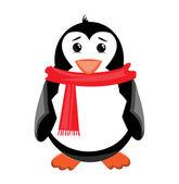 Penguin illustration — Stock Vector