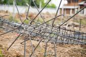 The preparation of the rebar — Stock Photo