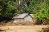 Houses and homes in the Village of Pomerini in Tanzania-Africa — Stockfoto