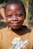 Afrikalı çocuklar tarafından kar amacı gütmeyen takip Aids acı — Stok fotoğraf