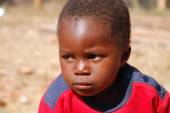 African children suffering from AIDS followed by the non-profit  — Fotografia Stock