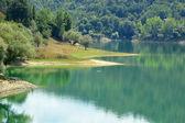 Abruzzo, İtalya 56 Salto Lake görünümü — Stok fotoğraf