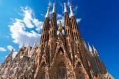 Temple Expiatori de la Sagrada Familia - Barcelona Spain — Stock Photo