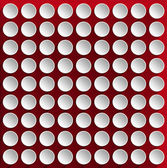 Circles on a Red Velvet Background — Foto Stock