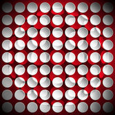 Circles on a Red Velvet Background — Stock Photo