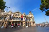 Port of Barcelona - Spain — Stock Photo