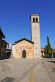 Cividale del Friuli - Church Santi Pietro e Biagio — Stock Photo