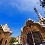 Park Guell - Barcelona Spain — Stock Photo #53677605
