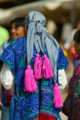 Mexican Dress - Zinacantan Chiapas Mexico — ストック写真