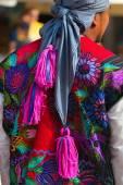 Mexican Dress - Zinacantan Chiapas Mexico — Stock Photo