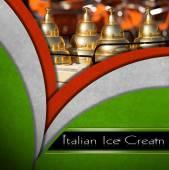 Italian Ice Cream — Stock Photo