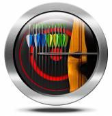 Archery Symbol — Stock Photo
